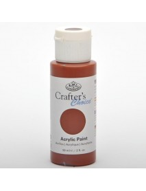 CRAFTER'S CHOICE ACRYLIC 59ML BURNT SIENNA