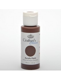 CRAFTER'S CHOICE ACRYLIC 59ML BURNT UMBER