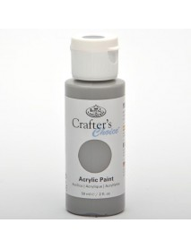 CRAFTER'S CHOICE ACRYLIC 59ML GREY