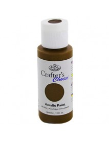CRAFTER'S CHOICE ACRYLIC 59ML BROWN TRANSP