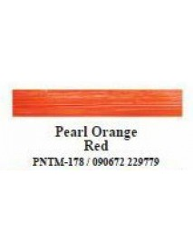 CRAFTER'S CHOICE ACRYLIC 59ML PEARL ORANGE RED