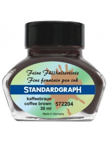 STANDARDGRAPH ΜΕΛΑΝΙ 30ML COFFE BROWN