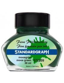 STANDARDGRAPH ΜΕΛΑΝΙ 30ML MOOS GREEN