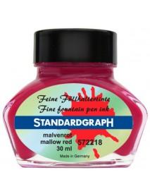STANDARDGRAPH ΜΕΛΑΝΙ 30ML MALLOW RED