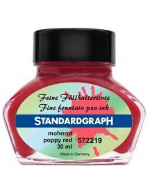 STANDARDGRAPH ΜΕΛΑΝΙ 30ML POPPY RED