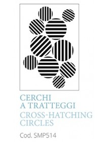 STENCIL A5 CROSS-HATCHING CIRLES