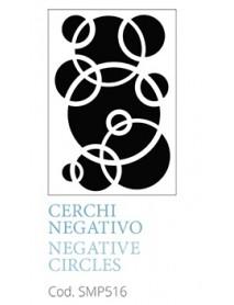 STENCIL A5 NEGATIVE CIRCLES
