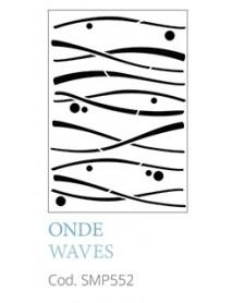 STENCIL A5 WAVES