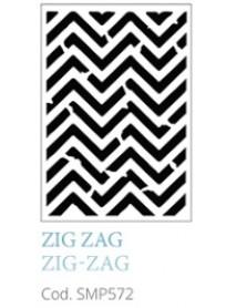 STENCIL A5 ZIG ZAG
