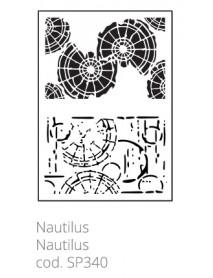 STENCIL NAUTILUS 20X30CM