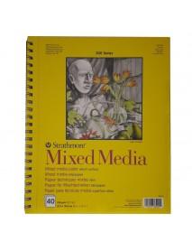 STRATHMORE BLOCK MIXED MEDIA 22,9X30,5 190GR 40ΦΛ