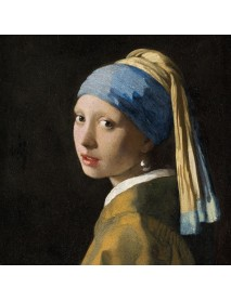 NAPKIN 33X33 GIRL WITH PEARL EARRING