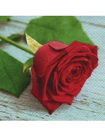 NAPKIN 33X33 LOVELY ROSE