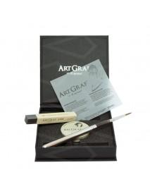 KIT ARTGRAF (TIN BOX 20GR+BRUSH+W.S STICK)
