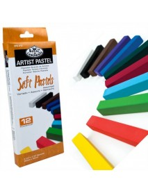 SOFT PASTEL ASSORTED COLORS 12ΤΕΜ