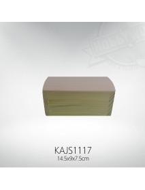 ΞΥΛΙΝΟ ΚΟΥΤΙ ΜΕ ΚΑΜΠΥΛΩΤΟ ΚΑΠΑΚΙ 14.5x9x7.5CM