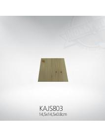ΞΥΛΙΝΟ ΤΕΤΡΑΓΩΝΟ 14.5x14.5x0.8cm