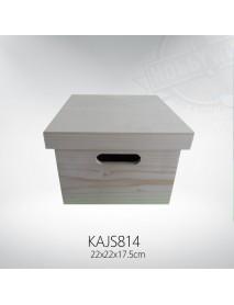 ΞΥΛΙΝΟ ΚΟΥΤΙ 22x22x17,5cm