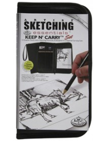 KEEP N CARRY SKETCHING SET