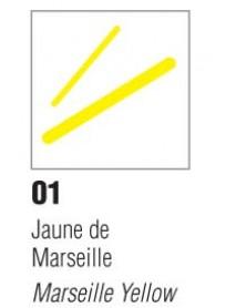 P150 FEUTRE P.FINES JAUNE MLL