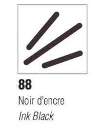 ΜΑΡΚΑΔΟΡΟΣ ΓΥΑΛΙΟΥ V160 1.2mm BRILANT NOIR D'ENCRE