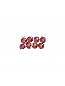 SWAROVSKI CRYSTAL BEADS TO IRON 4MM, 20TEM CLASSICAL RED