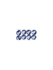 SWAROVSKI CRYSTAL BEADS TO IRON 4MM, 20TEM ROYAL BLUE