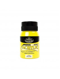 ΑΚΡΥΛΙΚΟ ROYAL 500ML LEMON YELLOW