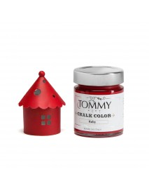 CHALK BASED ACRYLIC PAINT 140ML RUBY