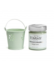 CHALK BASED ACRYLIC PAINT 140ML VINTAGE GREEN
