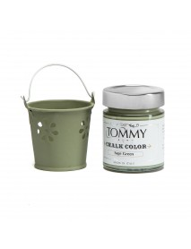 CHALK BASED ACRYLIC PAINT 140ML SAGE GREEN