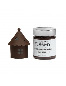 CHALKY COLOR TOMMYART 140ML DARK WALNUT