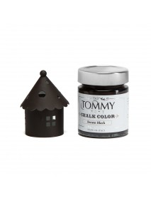 CHALKY COLOR TOMMYART 140ML BROWN BLACK