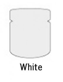 CHALK BASED ACRYLIC PAINT 80ML WHITE