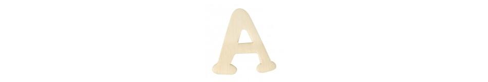 Ξύλινα γράμματα και αριθμοί