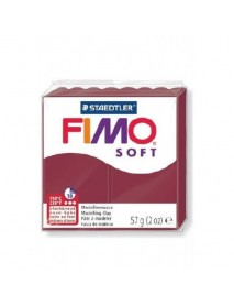 ΠΛΑΚΙΔΙΟ FIMO SOFT 56GR MERLOT